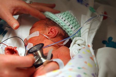 Calcio para el desarrollo pulmonar de los bebés prematuros