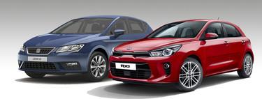 KIA Rio EX vs. SEAT León Style: ¿Cuál hatchback comprar por $300,000?