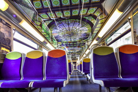 Impressionist Art Public Trains France 7
