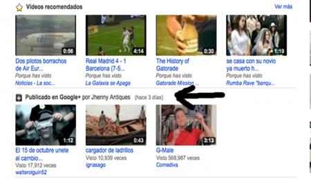 Ejemplo conexión Youtube y Google Plus