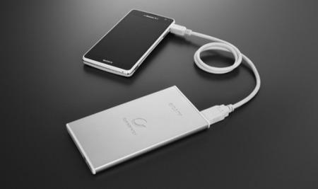 Sony estrena nueva línea de baterías externas delgadas