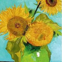 Los cinco girasoles de Van Gogh, juntos por primera vez en una exposición virtual