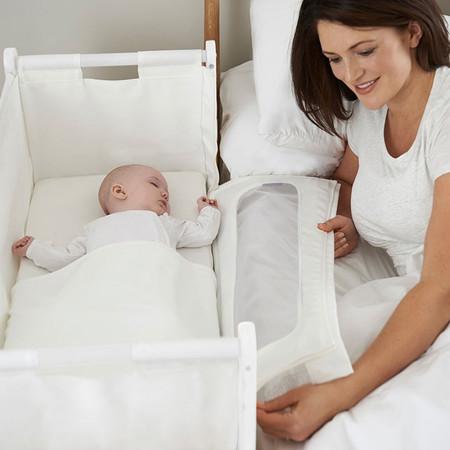 SnüzPod: cuna para colecho que se adosa a la cama de los padres