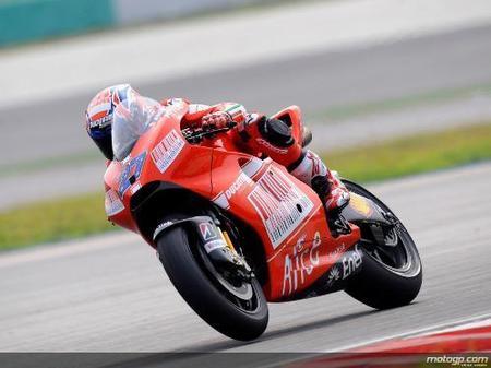 Entrenamientos de MotoGP en Sepang