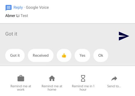 Reply, ya puedes descargar la nueva beta de las respuestas inteligentes de Google: ahora con recordatorios