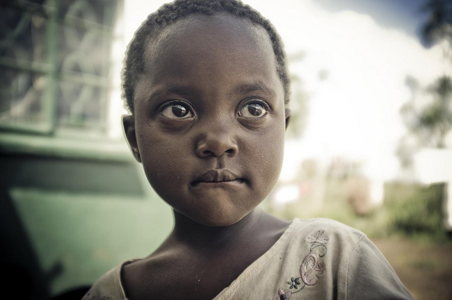 Rosaline from Kenyan orphanage