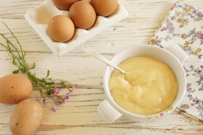 Crema pastelera en cinco minutos