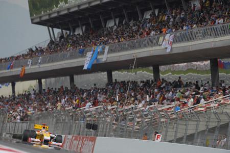 Fernando Alonso relegado a la cuarta fila