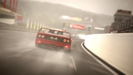 Gran Turismo Sport añade finalmente la lluvia tras un año y medio desde su lanzamiento