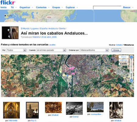 Fotos cercanas, lo nuevo de flickr