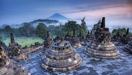 Indonesia: Borobudur, el monumento budista más grande del mundo
