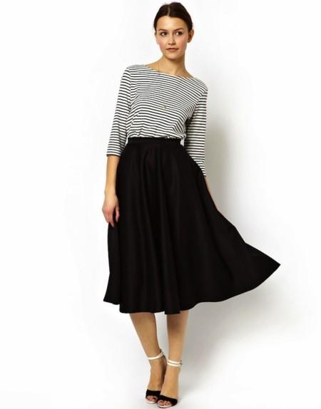 d03fff27742 Claves de moda para ir de shopping: la invasión de las faldas midi