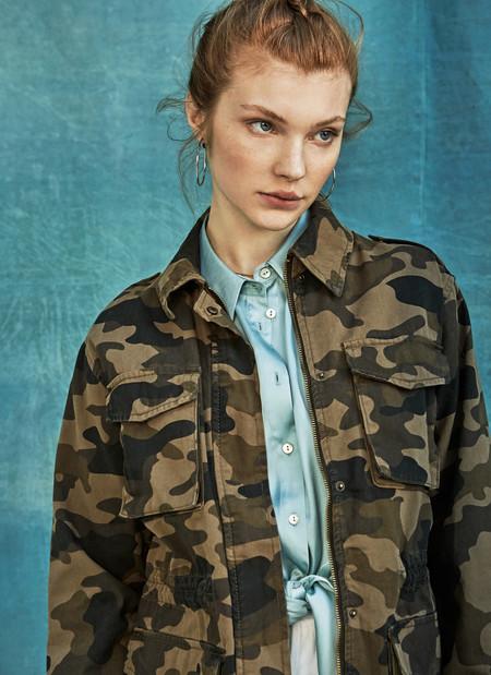 Comprar Chaqueta Militar Mujer 5