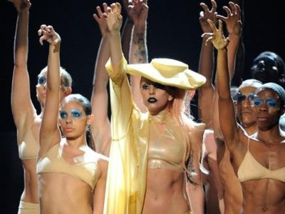 Alfombra Roja de los Premios Grammys 2011