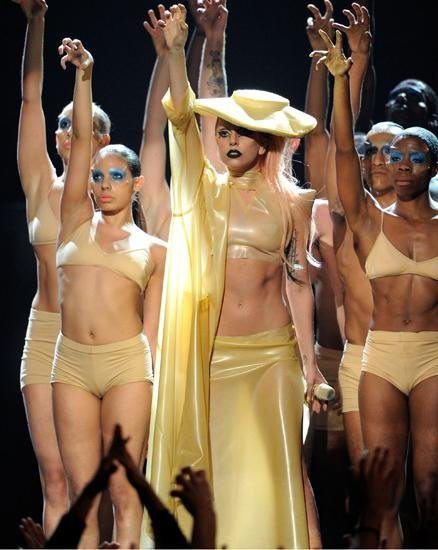 Lady Gaga grammy 2011