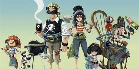Ilustración Mis Vecinos Los Piratas