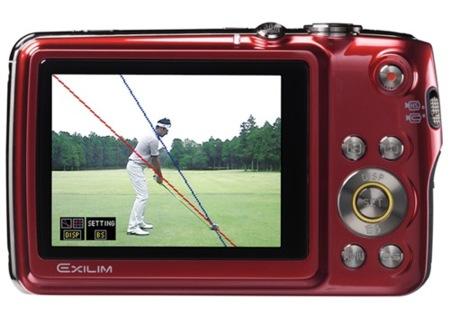 Casio Exilim EX-FS10: una cámara para mejorar jugando al golf