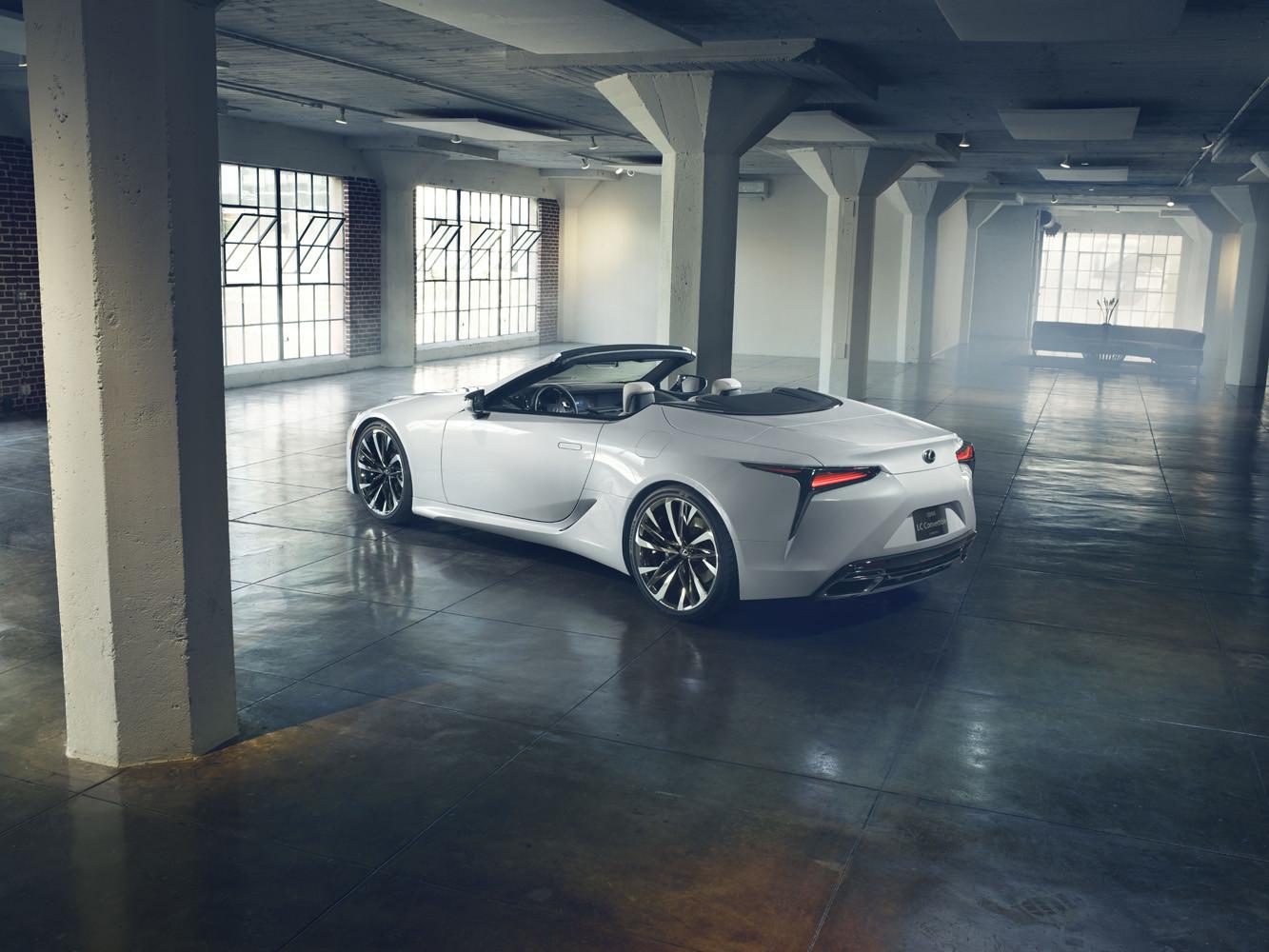 Foto de Lexus LC Convertible concept (1/12)