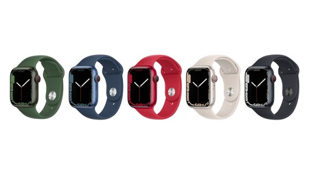 Apple Watch Series 7 aluminio