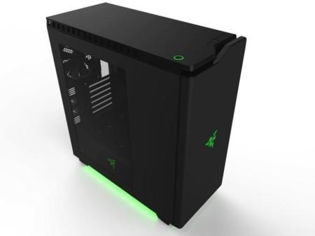 Del gaming al diseño: Razer se pasa a los chasis de PC de la mano de NZXT