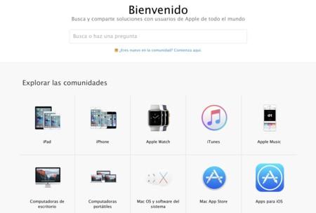 Comunidades De Soporte Apple