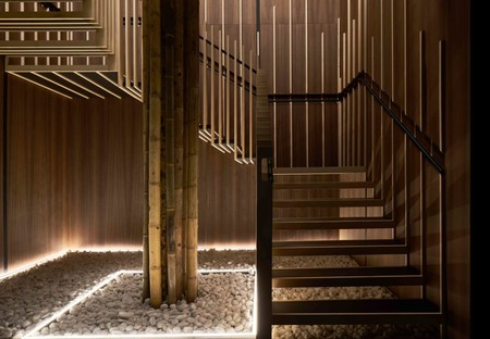 Sybarite Architects Yen London Leisure Interiors Restaurant Design Stairwell Ggarchard