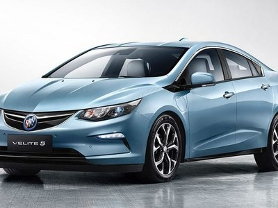 Buick Velite 5, o cómo el Chevrolet Volt llegará a China este mismo año