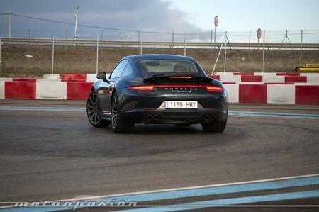 Porsche 911 Carrera 4S circuito