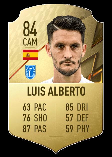 Luis Alberto FIFA 22