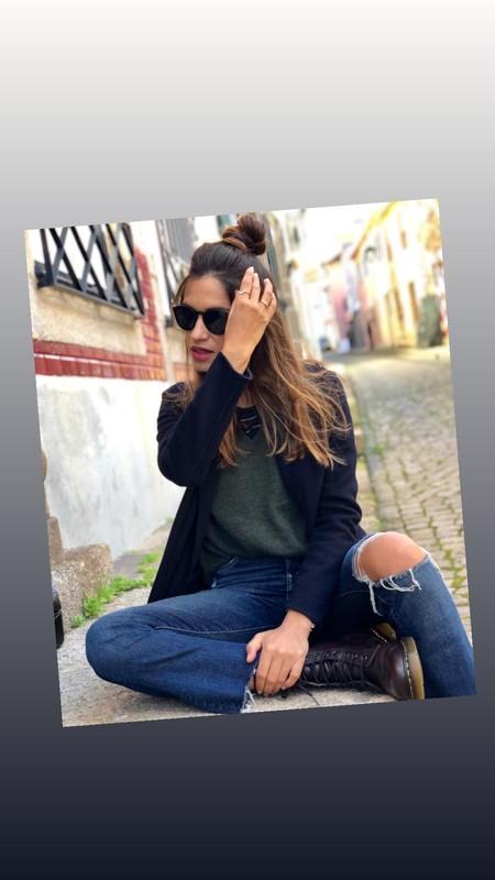 Sara Carbonero Top Knot 3