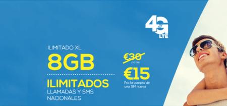 Lycamobile estrena 4G y nueva tarifa con llamadas ilimitadas y 8 GB al mejor precio del mercado