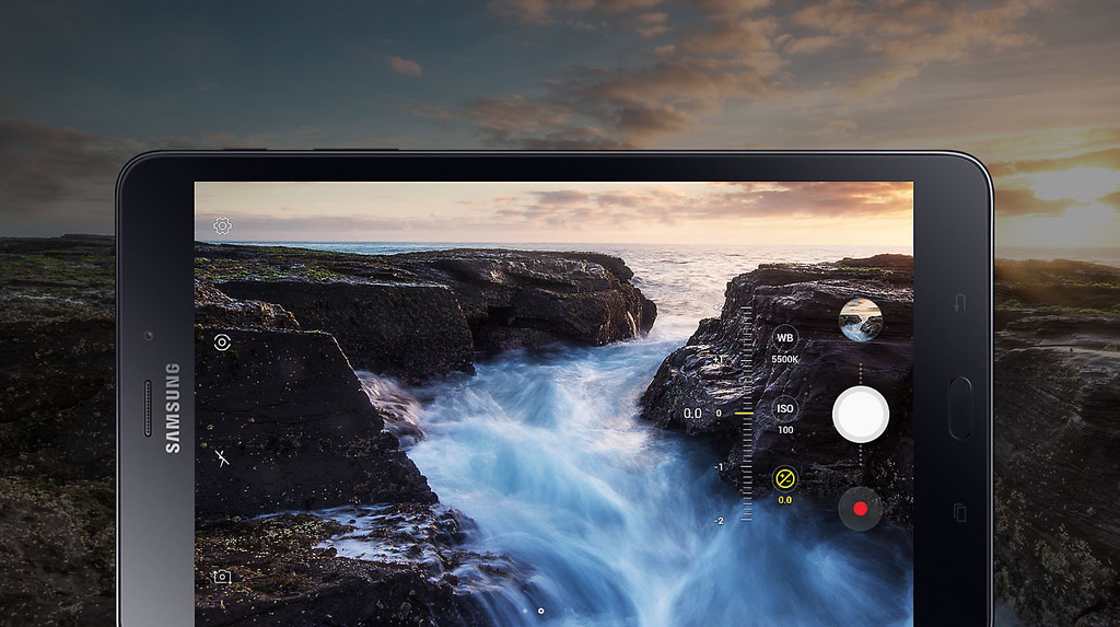 Galaxy Tab-Camera