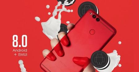 Honor 7X inicia su actualización a Android 8.0 Oreo con soporte para Project Treble y reconocimiento facial