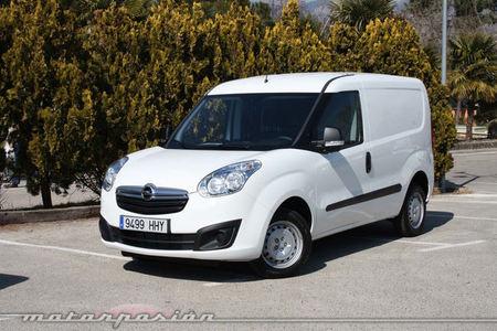 Opel Combo, presentación y prueba en Madrid (parte 1)