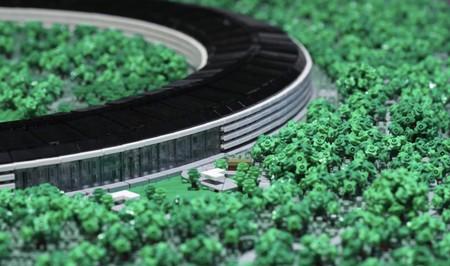 Este genio ha hecho una recreación del Apple Park en LEGO, incluido el Steve Jobs Theater