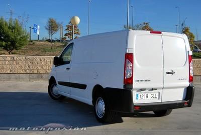 Citroën Jumpy Furgón 2.0 HDi blanca, prueba (parte 4)