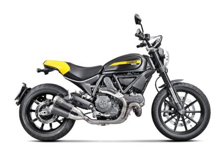 Saca el lado bestia de tu Ducati Scrambler con Akrapovic, comparativa de audio incluida