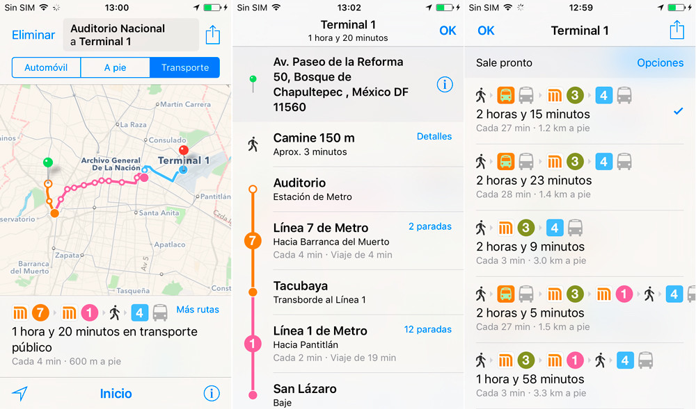 Trasporte Publico Mexico Ios 9