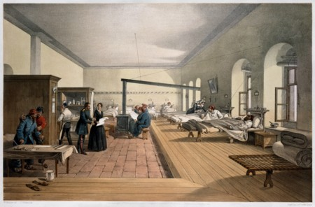 One Of The Wards In The Hospital At Scutari Wellcome M0007724 Restoration Cropped