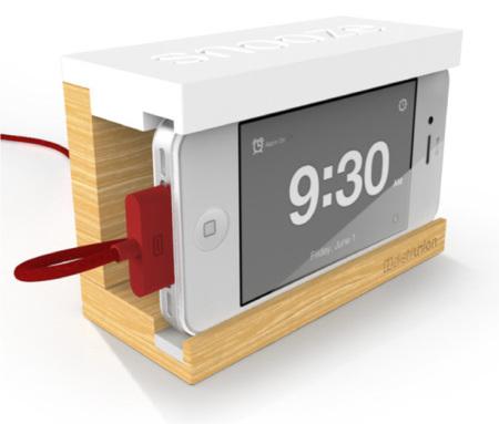 Snooze: El Dock de alarma iPhone para dormir sin sobresaltos