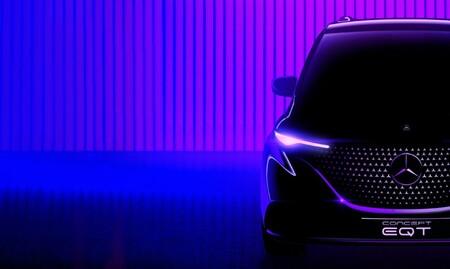 Mercedes-Benz EQT, un nuevo concepto eléctrico que se unirá a la gama muy pronto