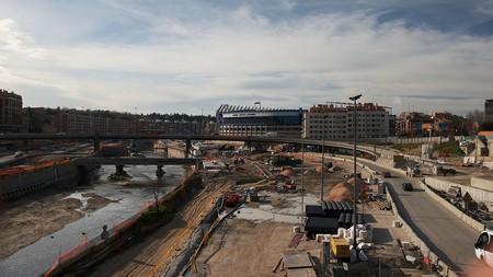 Madrid Obras M 30 Puente De Toledo 20070210a