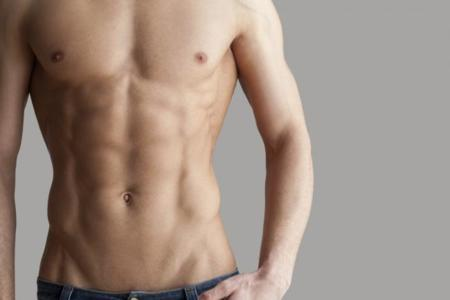 Los abdominales se trabajan en el gimnasio... y se destapan en la cocina