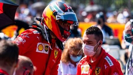 Sainz Gran Bretana F1 2021