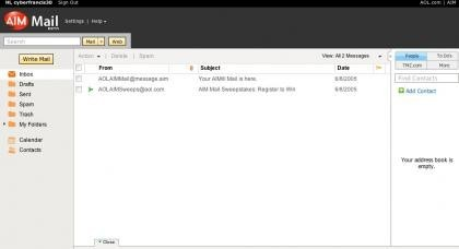 AOl Mail beta
