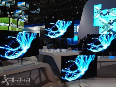Samsung Serie 9 OLED, toma de contacto