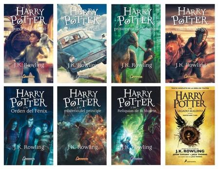 Pack Saga Harry Potter Completa Libros 1 A 8 J K Rowling D Nq Np 679718 Mla25575241311 052017 F