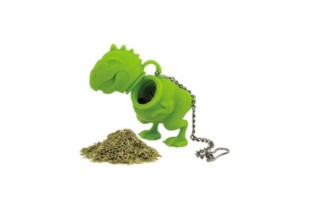 Idea de regalo navideño: Tea Rex, infusor para té