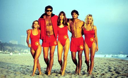 Baywatch Hasselhoff Los Vigilantes De La Playa Serielizados
