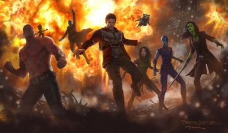 'Guardianes de la Galaxia Vol. 2', nueva imagen de los protagonistas (y otro vistazo a 'Doctor Strange')